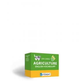 Картки англійських слів English Student — Agriculture 105 карток