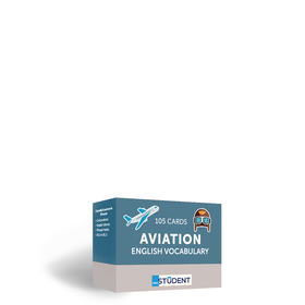 Картки англійських слів English Student — Aviation English 105 карток