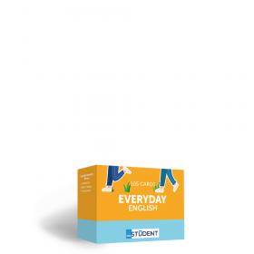 Картки англійських слів English Student — Everyday English 105 карток