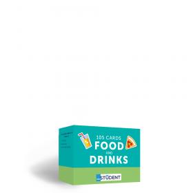 Картки англійських слів English Student — Food and Drinks 105 карток