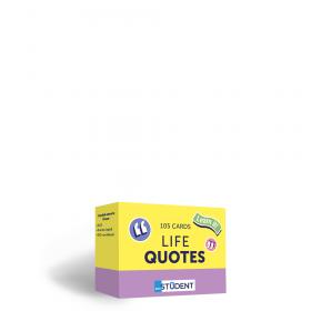Картки англійських слів English Student — Life Quotes 105 карток