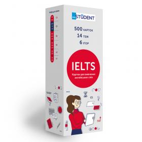 Картки англійських слів English Student - IELTS 500 карток