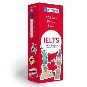 Картки англійських слів English Student — IELTS English to English 500 карток